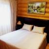 зеркальный сруб двуспальная кровать